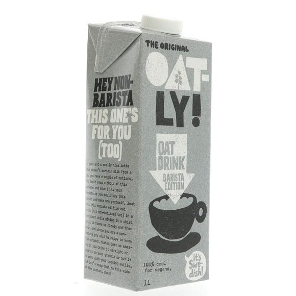 Oatly - Foamable Oat Drink (1 Litre)