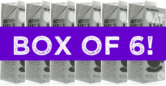 Oatly - Foamable Oat Drink (1 Litre) x 6