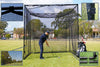Golf Practice Cage - 3m x 3m x 3m Steel Frame With Netting