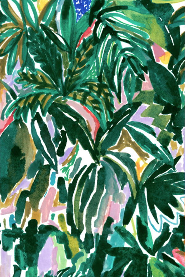 Variety Hour Jungle Print, Designed by Cassie Byrnes