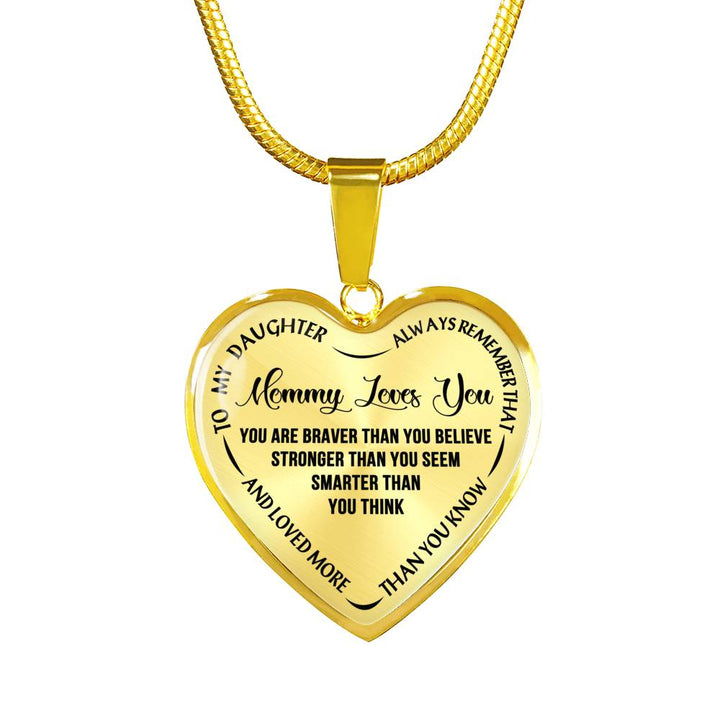 Christmas gift ideas mom daughter necklace