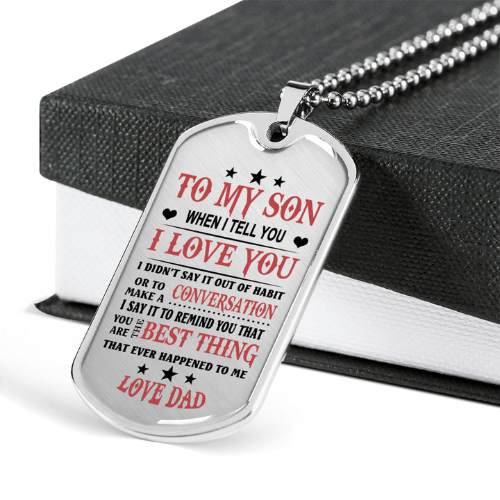 Father Son Gifts From Papa Birthday Gifts, Christmas Gift Idea for Kids  Luxury D