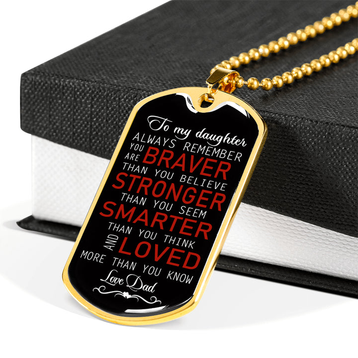 Dad Christmas Gifts.To My Son Necklace Dog Tag Love Dad Christmas Gifts Birthday Gift Ideas For Boys Luxury Dog Tag Gold Silver Fa So 01
