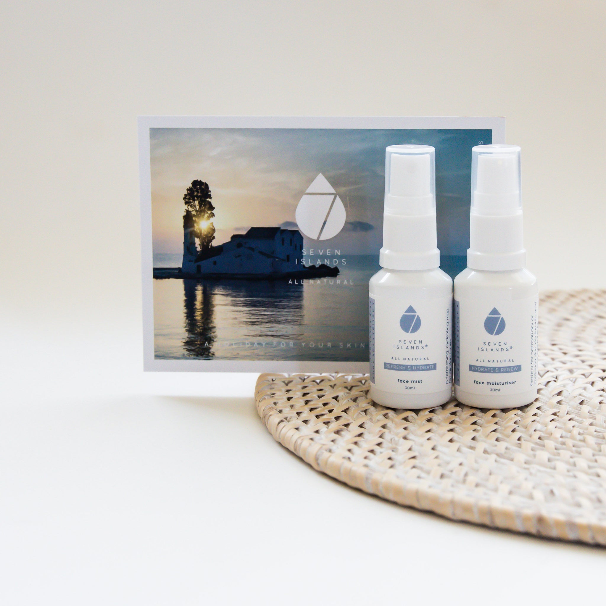 Hydrate and Renew Travel Duo