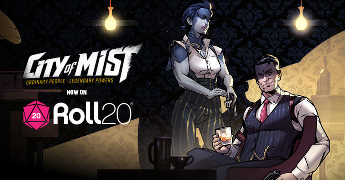 City of Mist Roll20 Organized Play