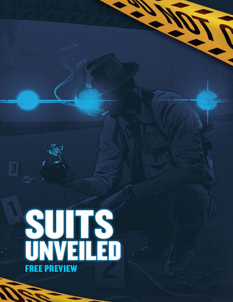 Preview of Suits Unveiled, Shadows & Showdowns | City of Mist Tabletop RPG (TTRPG)