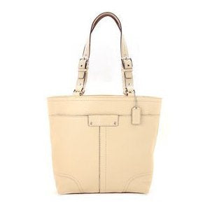 Coach Women's Hamilton Sand Leather Tote: Sand Tote