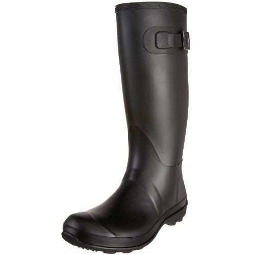Kamik Women's Olivia Rain Boot,Black,10 M US