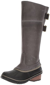 Sorel Women's Slimpack­ Riding Tall II Snow Boot, Quarry, Pebble, 7.5 B US