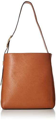 Cole Haan Kayden Leather Bucket HOBO, Collection Brown