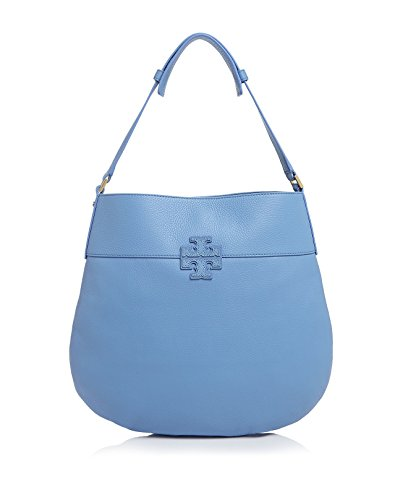 e5cc206f255d Tory Burch Stacked T Leather Hobo Shoulder Bag