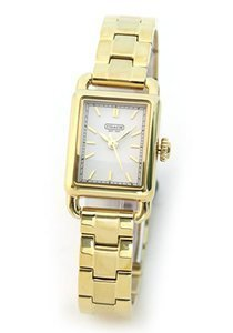 Coach Women's Hamptons elongated Watch - Gold tone