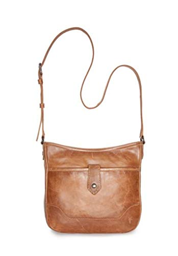 Frye Women's Melissa Button Crossbody Bag Beige/Khaki One Size