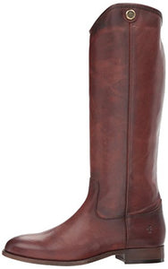 FRYE Women's Melissa Button 2 Extended Calf Riding Boot, Redwood Extended Calf, 8.5 M US