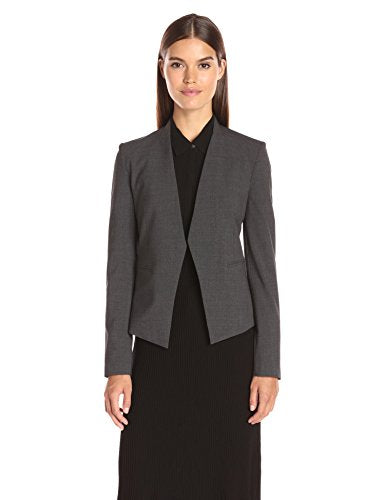 Theory Women's Lanai Edition 4 Jacket, Charcoal, 6