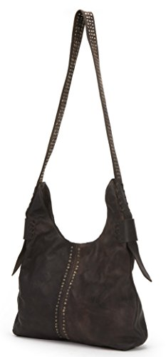 FRYE Samantha Studded Hobo, Chocolate