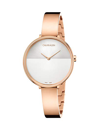 Calvin Klein Unisex Adult Analogue-Digital Quartz Watch with Stainless Steel Strap K7A23646