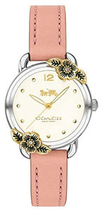 Coach | Womens Delancey | Pink Leather and Stainless Steel | 14503239
