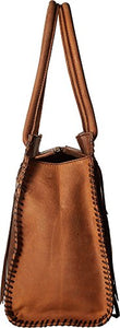 STS Ranchwear Women's Large Chaps Satchel Brown One Size