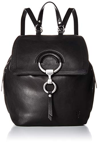 FRYE Ilana Small Leather Backpack, black