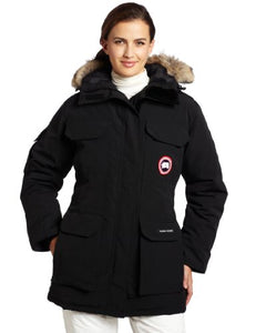 Canada Goose Women's Expedition Parka,Black,XX-Small