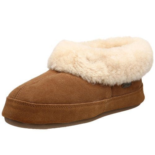 ACORN Women's Oh Ewe II Slipper, Walnut, 8 M