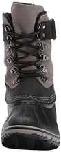 Sorel Women's Winter Fancy Lace II-W Snow Boot, Black, Kettle, 9 B US