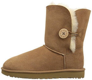 UGG Women's Bailey Button II Winter Boot, Chestnut, 9 B US