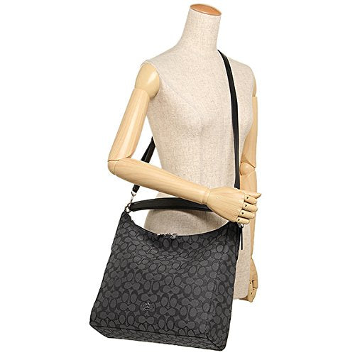 81a4e42ab1 ... Coach Outline Signature Celeste Hobo Shoulder Crossbody Bag Purse  Handbag ...