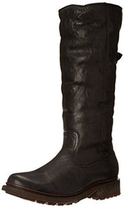 FRYE Women's Valerie Sherling Pull-On Riding Boot, Black, 7.5 M US