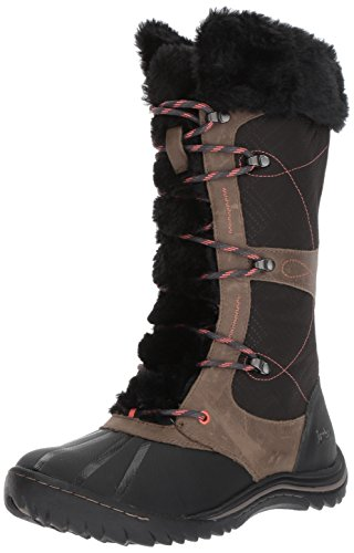 Jambu Women's Broadway Waterproof Snow Boot, Black, 8.5 M US