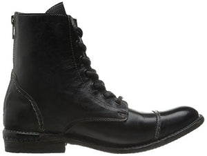 bed stu Women's Laurel Boot, Black Rustic, 9 M US