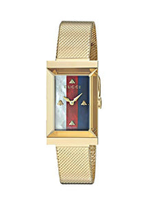 Gucci G-Frame Watch Gold/Green/Red One Size