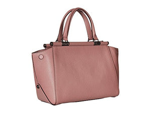 COACH Women's Drifter Satchel in Polished Pebble Leather Dk/Dusty Rose One Size
