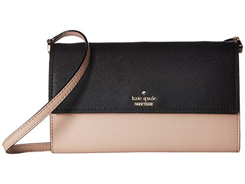 Kate Spade New York Women's Cameron Street Stormie Black/Toasted Wheat