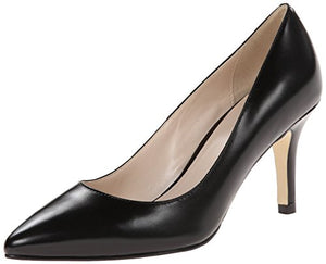 Cole Haan Women's Juliana Pump 75,Black Leather,8.5  B US