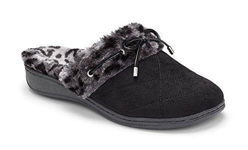 Vionic Pleasant Women's Orthotic Support Slippers Black - 9