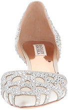 Badgley Mischka Women's Ginny Dress Pump, Ivory, 8.5 M US