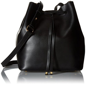 Lodis Blair Gail Medium Bucket Bag, Black/Taupe