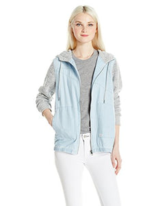 Volcom Women's Sea Enemy Jacket, Ocean, S