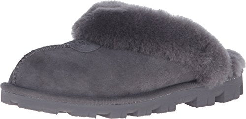 UGG Women's Coquette Grey Slipper - 6 B(M) US