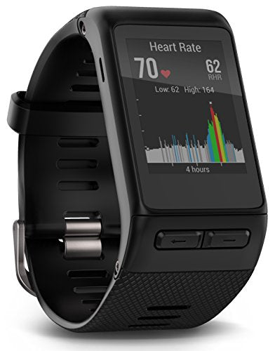 Garmin vívoactive HR GPS Smart Watch, Regular fit - Black