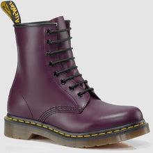 Dr. Martens 1460 Re-Invented 8 Eye Lace Up Boot,Purple Smooth Leather,3 UK / 4 US Mens / 5 US Womens