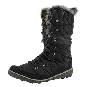 Columbia Women's Heavenly Omni-Heat Snow Boot Black 9 M US