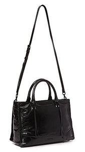 Rebecca Minkoff Regan Satchel Tote, Black
