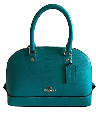 Mini Sierra Satchel IN Turquoise Crossgrain Leather 37217…