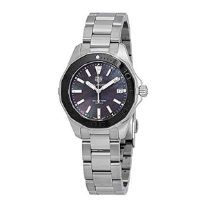 Tag Heuer Aquaracer Black Mother of Pearl Dial Ladies Watch WAY131K.BA0748