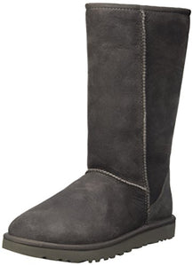 UGG Women's Classic Tall II Winter Boot, Grey, 8 B US