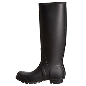 Hunter Original Tall Black Womens Boots 6 US
