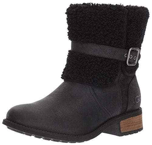 UGG Women's Blayre II Winter Boot, Black, 5 M US